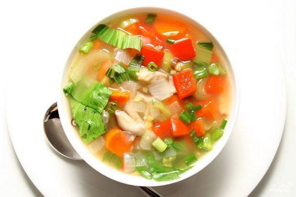 Рецепта: Зеленчукова, диетична супа за отслабване