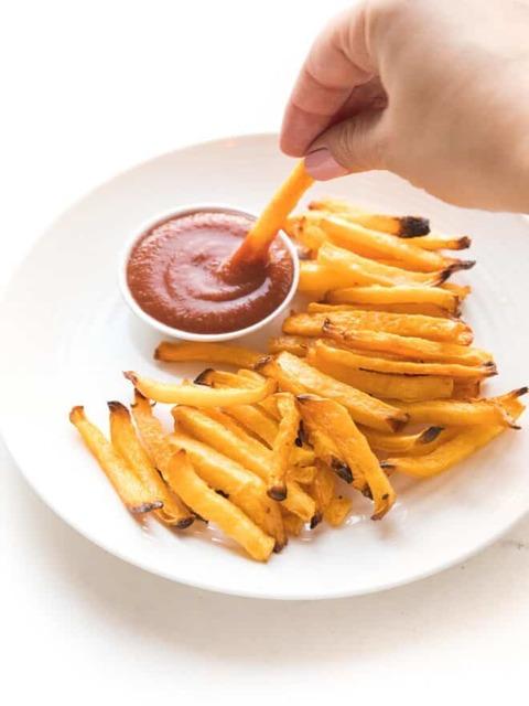 Рецепта за диетични кето картофки от брюква